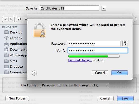 Export-.p12-Certificate
